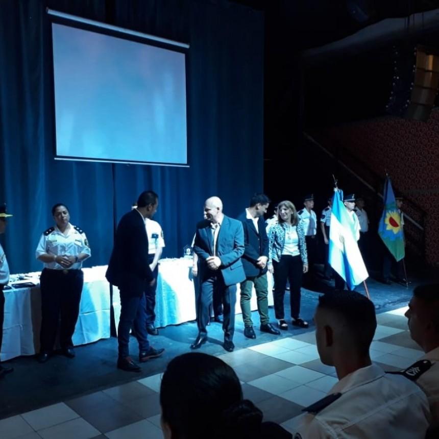 Policías de la región fueron premiados  por su labor