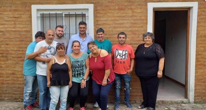 Visita del Intendente electo Profesor Gustavo Perie a ATE