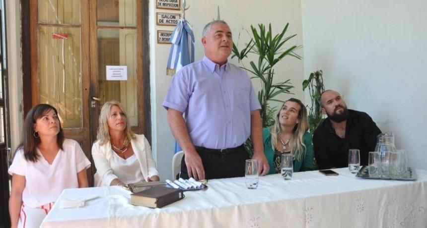 Asumieron los Consejeros Escolares, Fabián Idiart fue elegido presidente