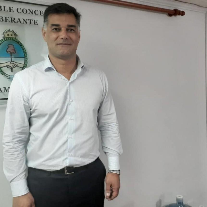Comenzó el tiempo de Gustavo Perie intendente