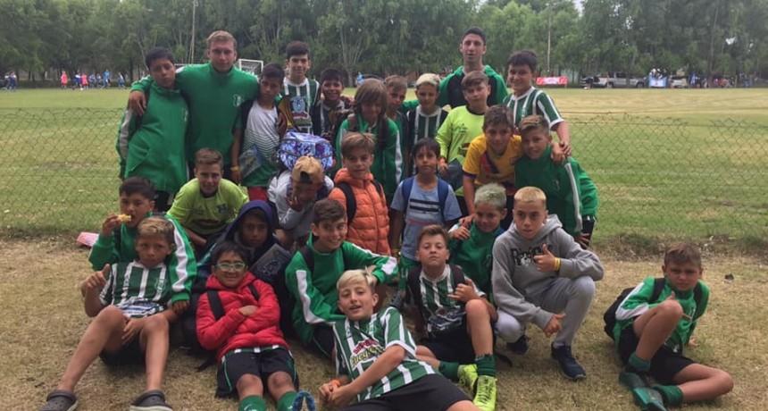 """Las categorías 2008 y 2009 """"Tucuras"""" desplegaron su fútbol en Santa Teresita"""