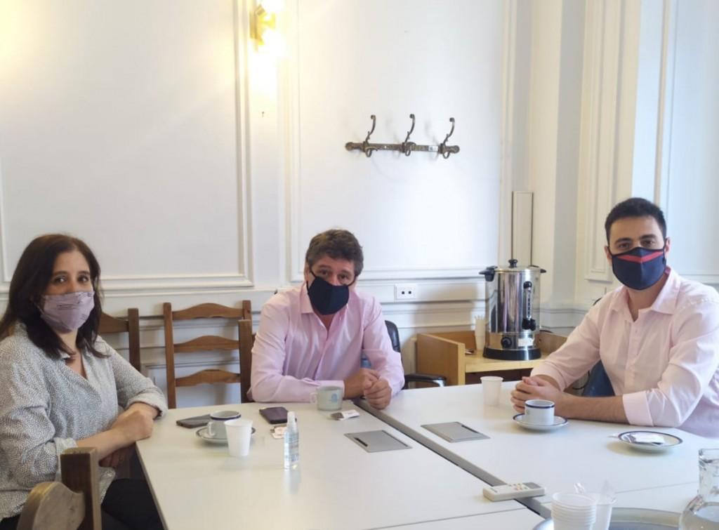 Elías Georgetti se reunió con el Director de Cultura de la Cámara de Diputados
