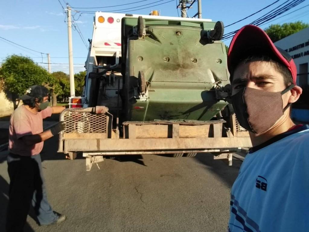 Los recolectores de residuos afiliados a ATE le respondieron a la Secretaria de Obras Públicas