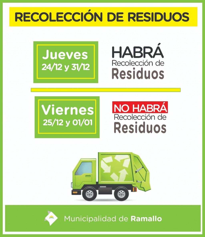 Servicio de recolección de residuos en las fiestas