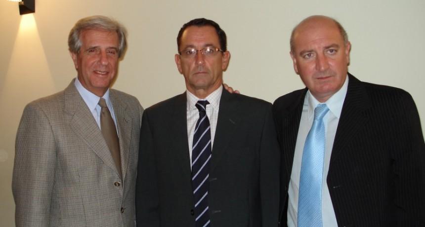 Tabaré Vázquez... su vínculo con Ramallo y la región