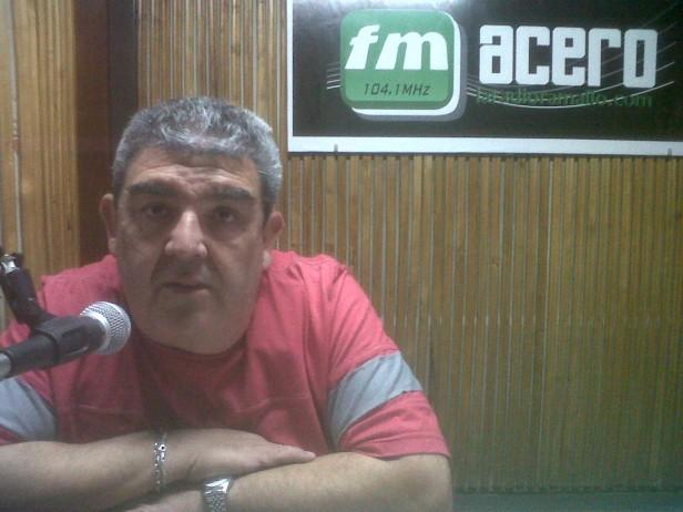 """Néstor """"bombacha"""" Ruiz """"Estamos muy contentos con la respuesta de la gente"""""""