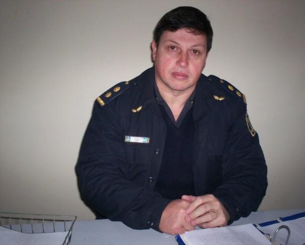 """Pedro Biain, jefe distrital de policía: """"Hemos reforzado el personal policial en las calles"""""""