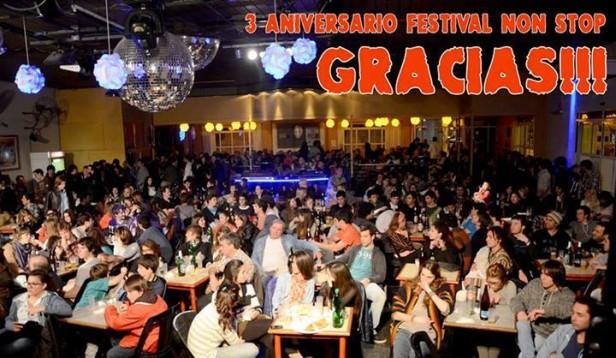 3º ANIVERSARIO DE FESTIVALES NON STOP