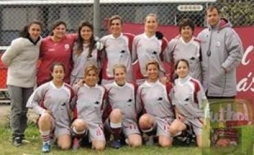 Liga Regional de Fútbol Femenino : Defensores B alcanzó la punta
