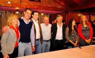 El Frente Progresista Cívico y Social presentó su lista en la localidad de Pérez Millán