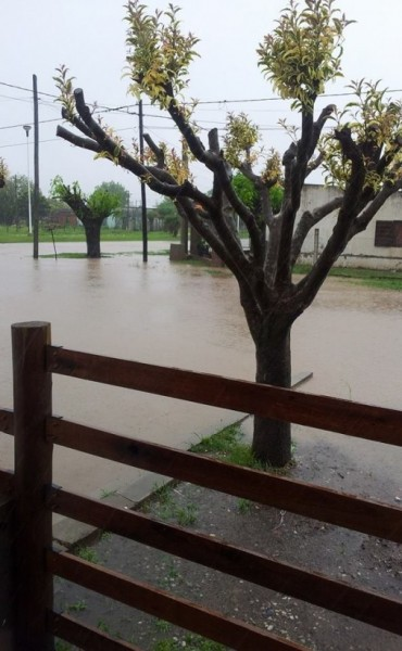 Preocupación por calles inundadas
